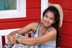 Regge Thailand Asia Woman Cowboy Stock Photography