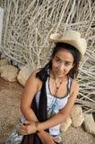Regge Woman Cowboy Asia Thailand Royalty Free Stock Photo