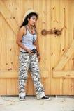 Regge Woman Cowboy Thailand Asia Royalty Free Stock Photography