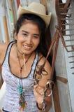 Regge Woman Thailand Asia Cowboy Stock Image