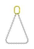 Reggette del carico: catena del metallo royalty illustrazione gratis