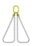 Reggette del carico: catena del metallo illustrazione vettoriale