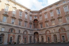 Reggia caserta palace Royalty Free Stock Images