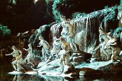 Reggia di Caserta, Italien Arkivbilder