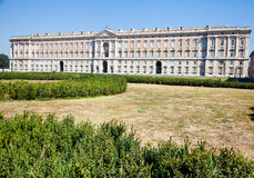 Reggia di Caserta - Italy. Reggia di Caserta (Caserta Royal Palace) during a sunny day Royalty Free Stock Photos