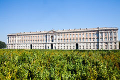 Reggia di Caserta - Italy. Reggia di Caserta (Caserta Royal Palace) during a sunny day Royalty Free Stock Image