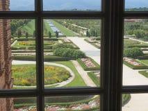 Reggia di Venaria gardens Royalty Free Stock Images