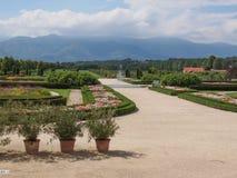 Reggia di Venaria gardens Royalty Free Stock Photos