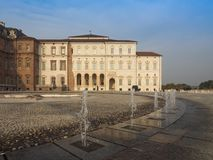 Reggia di Venaria in Venaria. VENARIA, ITALY - CIRCA OCTOBER 2017: Reggia di Venaria baroque royal palace Royalty Free Stock Photo