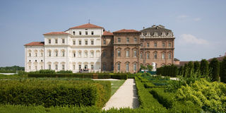 Reggia di venaria near turin Royalty Free Stock Photo