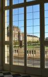 Reggia di Venaria Reale, balcone immagine stock libera da diritti