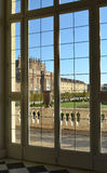 Reggia di Venaria Reale, balcony Royalty Free Stock Image