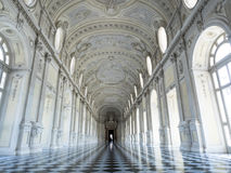 Reggia di venaria royal palace in Turin italy Stock Photos