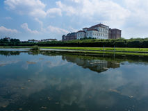 Reggia di venaria royal palace in Turin italy Stock Image