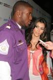 Reggie Μπους, Kimberly Kardashian στοκ εικόνα με δικαίωμα ελεύθερης χρήσης