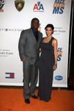 Reggie Bush, Kim Kardashian immagini stock libere da diritti