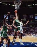 Reggie Lewis, Boston Celtics immagini stock libere da diritti