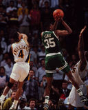 Reggie Lewis, Boston Celtics Stock Image