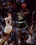 Reggie Lewis, Celtics de Boston Imagen de archivo