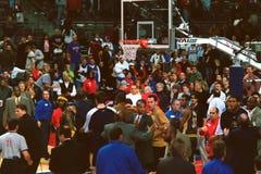 Reggie Miller Palace Brawl Photos stock