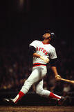 Reggie Smith, Boston Red Sox. Boston Red Sox outfielder Reggie Smith.  (Image taken from color slide Royalty Free Stock Photo