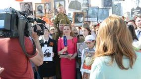 Reggimento immortale a Mosca archivi video