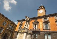 Reggio Emilia, Emilia Romagna, Itália fotografia de stock