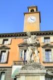 Reggio Emilia. Fountain of the river Crostolo Royalty Free Stock Photo
