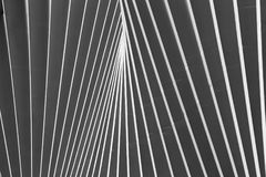 REGGIO EMILIA, ITÁLIA - 13 DE ABRIL DE 2018: A estação de trem de Reggio Emilia avoirdupois Mediopadana pelo arquiteto Santiago C Fotografia de Stock Royalty Free