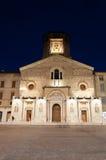 Reggio Emilia Kathedrale Stockbild