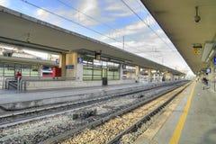 Reggio Emilia. Railroad station Stock Image