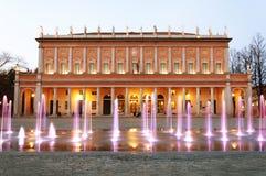 Reggio Emilia - städtisches Theater Lizenzfreies Stockfoto