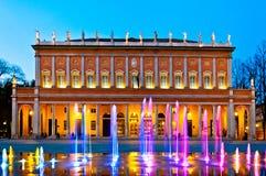 Reggio Emilia - teatro municipal imagenes de archivo