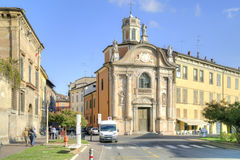 Reggio Emilia. Urban landscape Royalty Free Stock Images