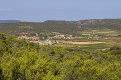 Região de Aude, França Imagens de Stock Royalty Free