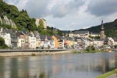 Região de Cochem no centro do vale romântico de Moselle, Alemanha Imagem de Stock Royalty Free