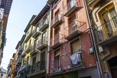 Região de Estella, Navarra, Espanha do norte fotografia de stock royalty free