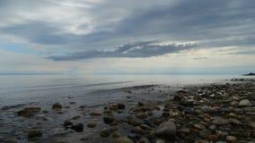 Região de Irkutsk Baikal no amanhecer Imagem de Stock