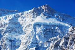 Região de Kanchenjunga imagem de stock