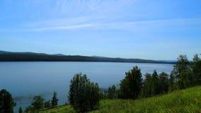 Região de Kemerovo Lago Ingol Imagens de Stock