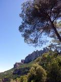 Região de Monserrate, Barcelona, Espanha imagem de stock royalty free