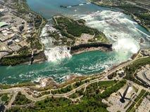 Região de negligência de Niagara fotos de stock