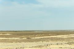 Região dhofar de dracmas da miragem do deserto de oman da miragem foto de stock royalty free