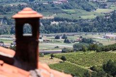 Região do vinho de Italy fotos de stock royalty free