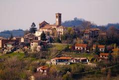 Região Italy de Oltrepo Pavese Foto de Stock