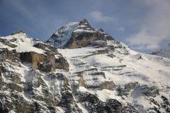 Región de Jungfrau Imagen de archivo