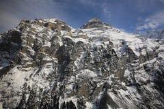 Región de Jungfrau Fotografía de archivo