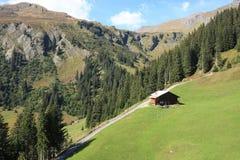 Región de la montaña de Jungfrau en Suiza Imagen de archivo libre de regalías