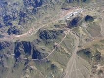 Región de la montaña de Nevada Imagen de archivo