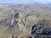 Región de la montaña de Nevada Fotografía de archivo